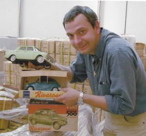 Enrico Sardini nel 2005, a caccia di obsoleti