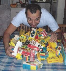 """Enrico Sardini nel 2005 con un """"ricco bottino"""""""