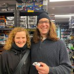 Adam McKinty and Jennifer Fraser amici di Tiny Cars dal Canada