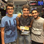 Andrea, Francesco e Stucco, amici di Tiny Cars!