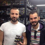 "Antonio ""Seven Lives"" e Daniele Alletto, amici di Tiny Cars"