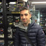 Davide Senna, amico di Tiny Cars