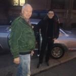 Giancarlo Pietra e Matteo Nava con una splendida Alfa gt junior