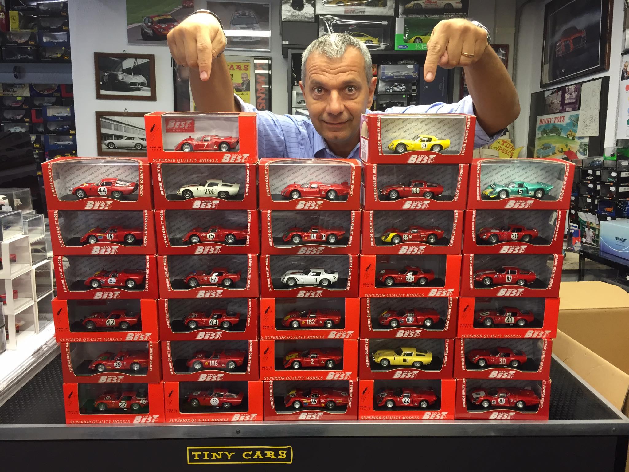 Tiny Cars acquista grandi collezioni di automodelli in scala! Andate sul sicuro, affidatevi a chi ha esperienza!