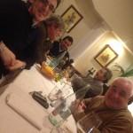 Tiny cena del 15/03/2013 — con Matteo Nava, Piero Tecchio e Franco Pignatelli.