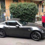 Alessandro Rigatto prova la nuova Mazda Mx 5 RF con tetto in lamiera