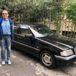 Alessio con la sua nuova C 200 Elegance del 1997!