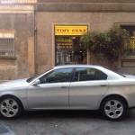Alfa Romeo 166, 2001