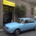 Alfa Romeo 1750 inglese: guida a destra