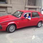Alfa Romeo 75 1.8 Turbo del 1991 e Matteo Nava