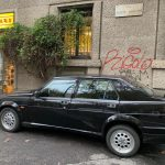 Alfa Romeo 75 turbo America anno 1989 con rari cerchi OZ