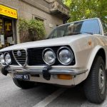 Alfa Romeo Alfetta 1.6 Unificata 1980