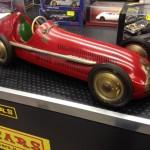 Alfa Romeo Alfetta, giocattolo anni '50, splendida vero