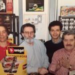 Amarcord: Cambieri, L'Emilio, io ed il Menotti nel negozio di Via Biondi!