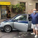 Andrea Amico di Tiny Cars con la sua splendida Abarth Rivale!