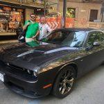 Arriva anche Luca Viscardi con la sua Dodge Challenger R T
