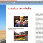 Articolo su American Auto Italia