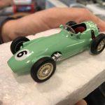 BRM P25 1956 Stirling Moss, base Corgi Toys, by Carletto!