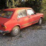 Da Liznjan (HR) la famosa Zastava Skala, alias Fiat 128 croato con il sedere strano