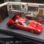 Diorama garage Lamborghini