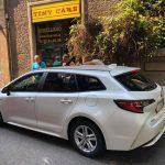 Ecco Giorgio con la Toyota Corolla nuovaaa!