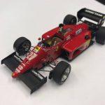 Ferrari 156 Turbo Imola GP 1985 Michele Alboreto Bosica Kit scala 1:43