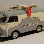 Fiat 1100 T ricambi Fiat realizzato dal mago Massimo Carini su base da edicola!