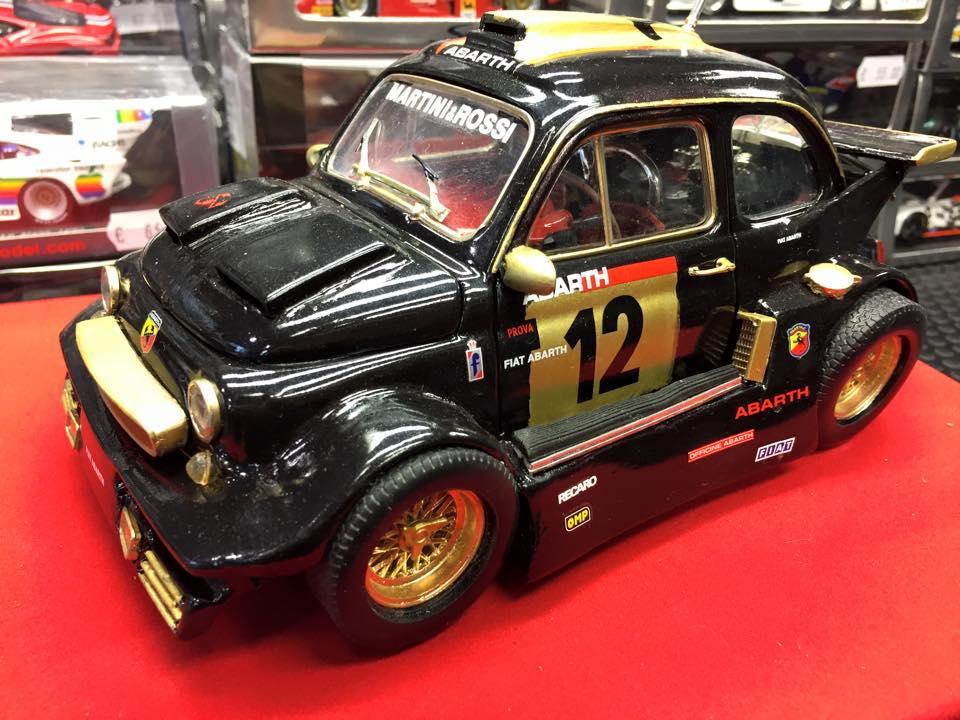 Fiat 500 elaborata scala 1 24 tiny cars for Cianografie d epoca in vendita