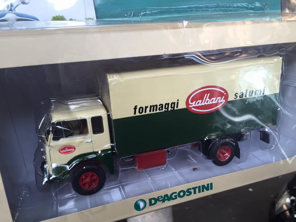 Fascicolo Fiat 643N Galbani 1963 Test DeAgostini 1:43 1//43