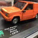 """Fiat Panda """"Zero"""" Prova, 1979, realizzazione SAM DIECAST ART scala 1:24"""