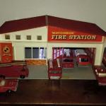 Fire Station Matchbox