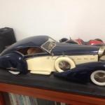Isotta Fraschini credo scala 1:8 costruita completamente a mano da un modellista molti anni fa. Collezione privata