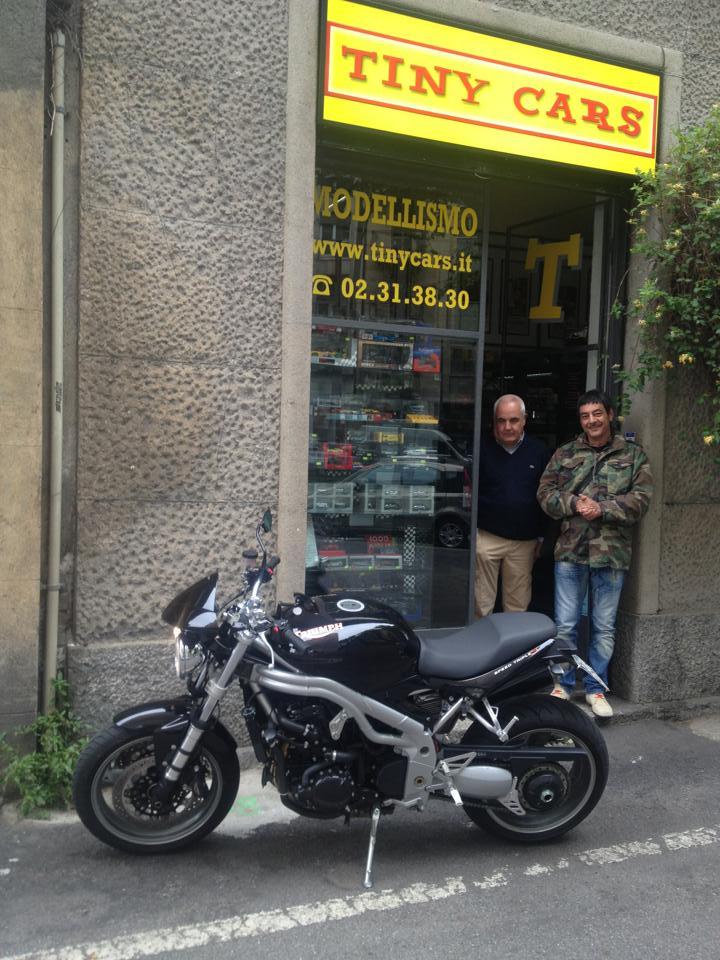 La Triumph Speed Triple S by Talamo di Max