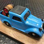 Luciano ci presenta la sua Fiat 500 A elaborata in furgone del vinaio, base Brumm!