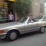 Mercedes 300 SL del 1987