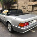 Mercedes 320 SL 1993, rara targa Rimini!