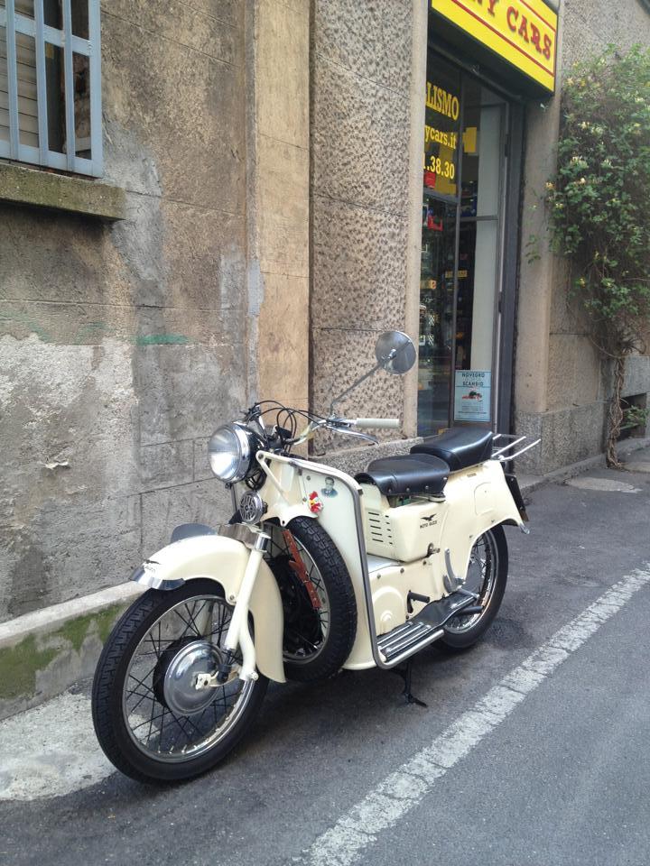 Moto Guzzi Galletto, 1954