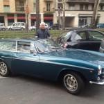 Oscar Cantaluppi, amico di Tiny Cars, con la sua splendida Volvo P 1800 ES