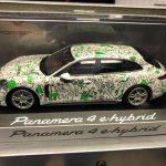 Panamera Sport Turismo E Hybrid con livrea Green Future ideata dagli studenti della nuova accademia di belle arti
