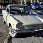 Paolo ci manda questa spettacolare Fiat 850 Vignale avvistata a Varigotti!