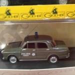 Rara Fiat 1100 R Polizia femminile della Giocher