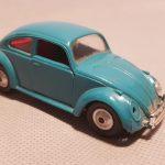 Rarissima Volkswagen Maggiolino Politoys in plastica, magistralmente restaurata da Massimo Carini, pezzo molto difficile da trovare