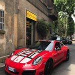 Sorpresa! Il grande Valerio Dell'Acqua in visita con una strepitosa Porsche 911 serie speciale