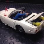 Toyota 2000 GT 007, Corgi Toys scala 1:43