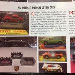 Valerio Alfonzetti che ci presenta il suo ultimo numero di Tutto Porsche!