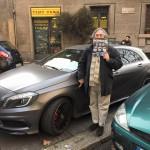 Valerio Alfonzetti ci porta a vedere la Mercedes A45 AMG in prova
