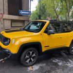 Valerio Alfonzetti prova la Jeep Renegade Trail Hawk
