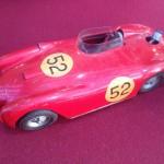 Vista a Novegro una rarissima Lancia D24 Mercury (cm 35 circa!)