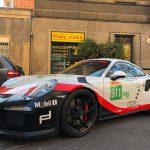 Wrapping definitivo della Gt3 RS di Patrizio con la nuova livrea!