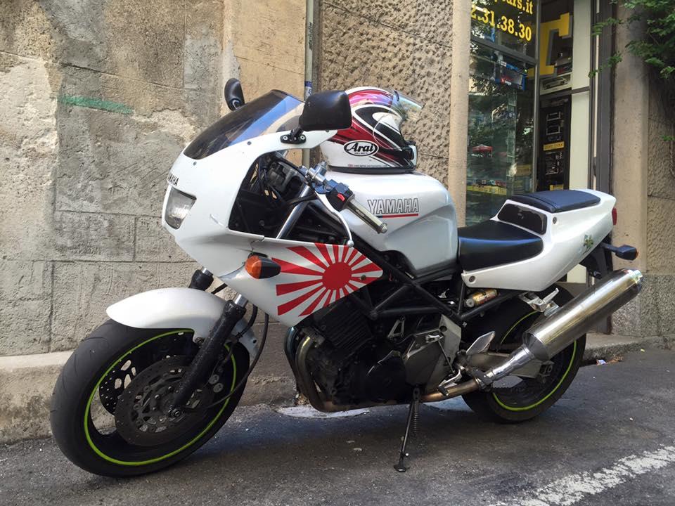 Yamaha TRX 850, 1998